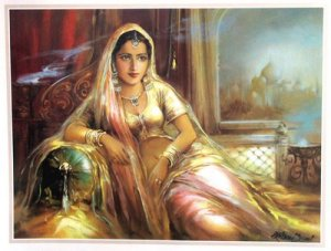 அழகான இந்திய ராணி