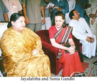 ஜெயலலிதா சோனியா காந்தி