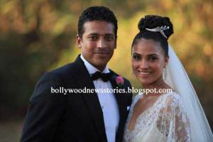 Lara Dutta - Mahesh Bhupathi - wedding photos
